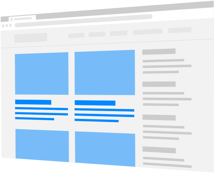 webpage graphic