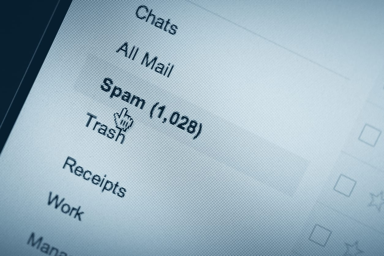 Email spam folder, email marketing