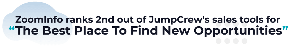 ZoomInfo sales tool