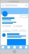 blue mobile graphic