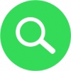 search graphic in green